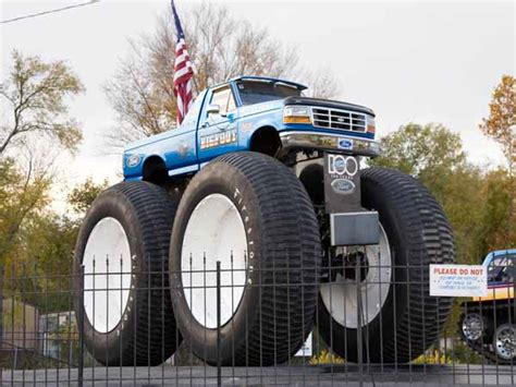 first truck ever made hazelwood d a r e cers saw world s first monster truck
