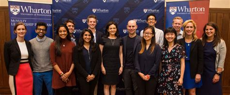 Wharton Mba Class Of 2017 Commencement Date by Authors Wharton Mcnulty Leadership Program
