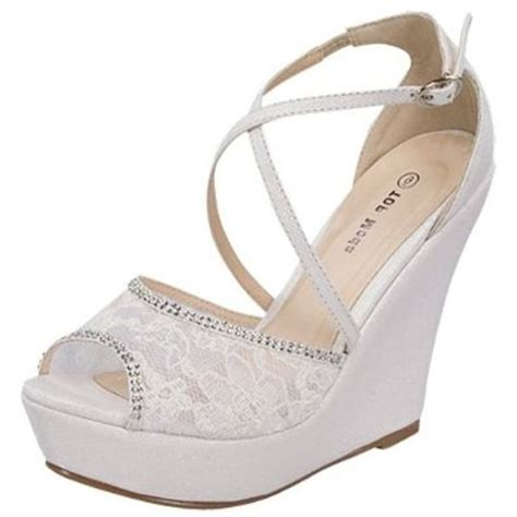best 25 lace wedges ideas on wedges