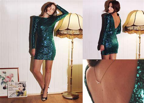 ingrid wenell ivyrevel sequin dress h m necklace