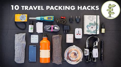 3 Tips To Using Packaging - 10 essential travel packing tips hacks minimalist
