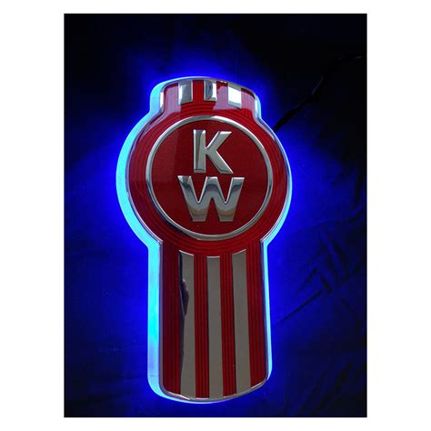 kenworth logo kenworth bug led backlight