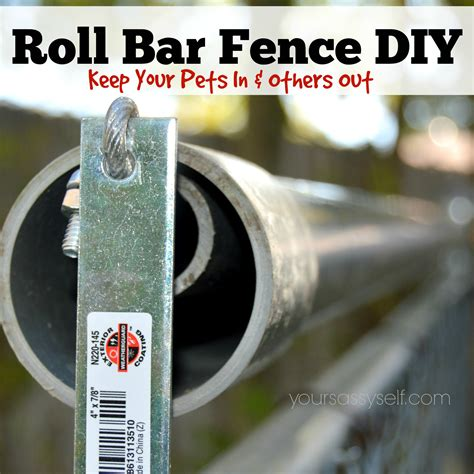 how to keep dog from jumping fence roll bar fence diy keep your pets in others out your