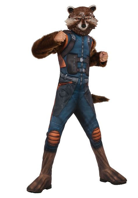 rocket raccoon costume child deluxe rocket raccoon costume