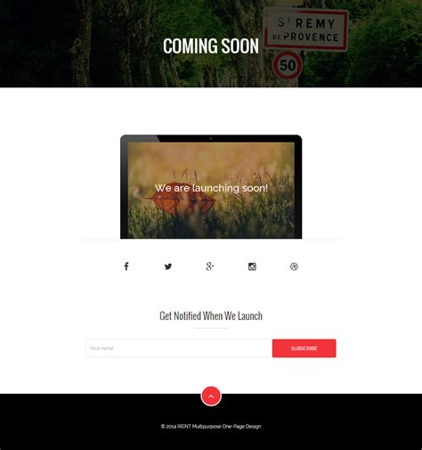 coming soon html5 template free 10 best responsive coming soon html5 templates in 2014