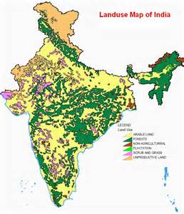land maps land use map of india national institute of hydrology