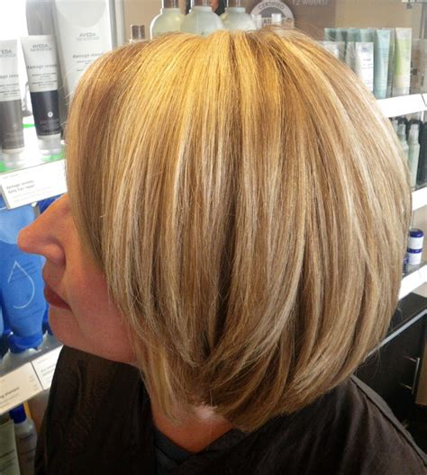 aveda silver hair colors multi dimensional highlighted blonde using aveda color