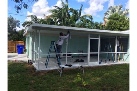 mobiles terrassendach broward county hurricane shutters patio pool screen