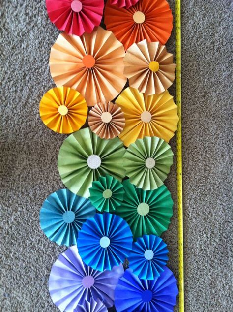 Paper Folded Flowers - pin by maceachern on things i made