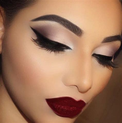 dark red lipsticks on pinterest fashion fair makeup image result for makeup looks for a navy dress spring