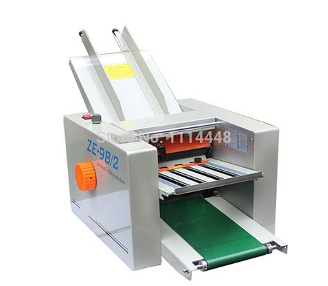 Best Paper Folding Machine - brand new automatic paper folding machine paper folder