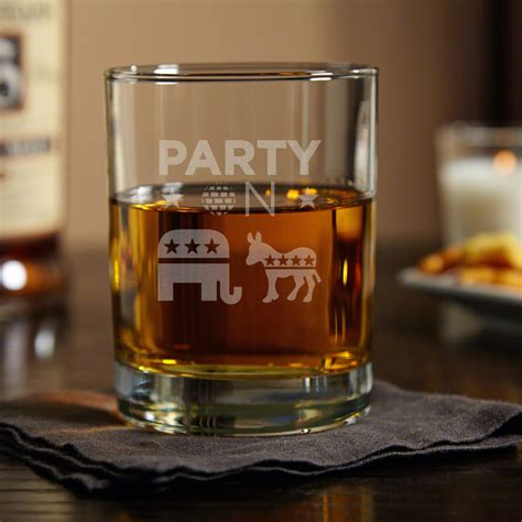 Whisky Room 5016 by On Political Whiskey Glass 3 Designs