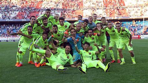 fc barcelona champions  la liga  youtube