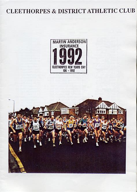 new year date in 1992 cleethorpes new years day 10k 1992