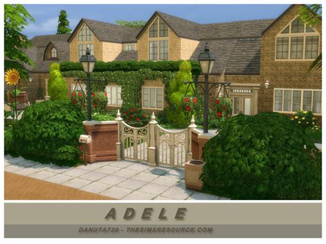 adele house by danuta720 at tsr 187 sims 4 updates