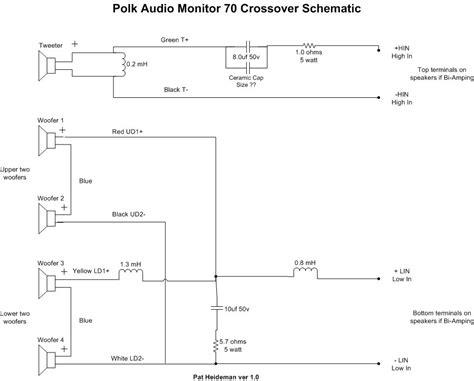 polk speaker wiring diagram 28 images el aviso ha