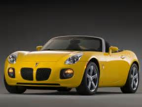 Pontiac Solstice Yellow Pontiac Solstice Car Barn Sport