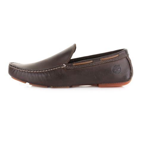 brown driving loafers mens timberland heritage driver brown leather driving