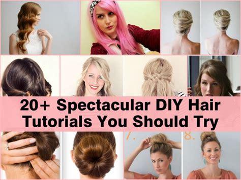 1950 diy hair 20 spectacular diy hair tutorials you should try