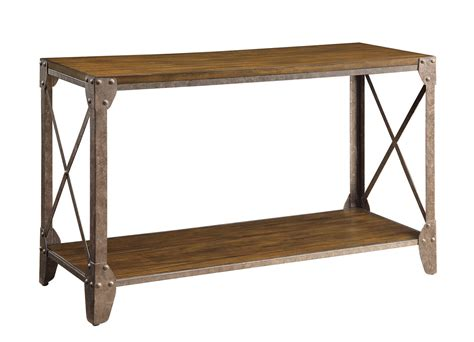 Coaster 703199 Sofa Table Rustic Brown 703199 At Coaster Sofa Table