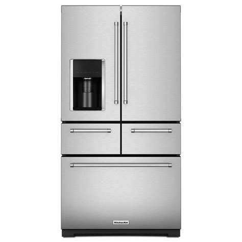 kitchenaid  cu ft  door french door refrigerator