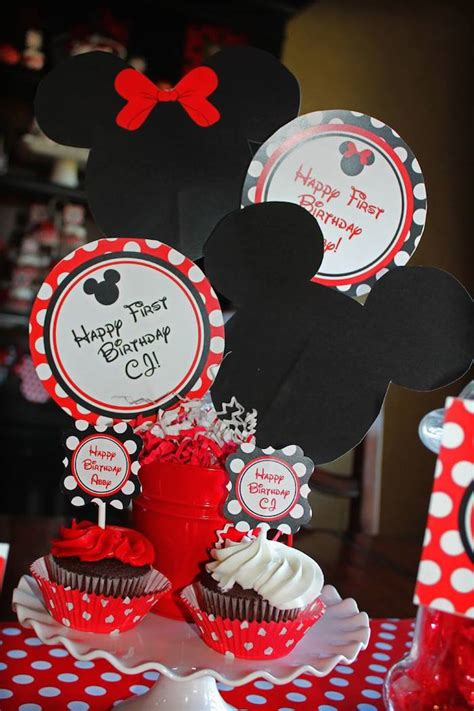 printable minnie mouse party decorations kara s party ideas mickey and minnie mouse themed birthday