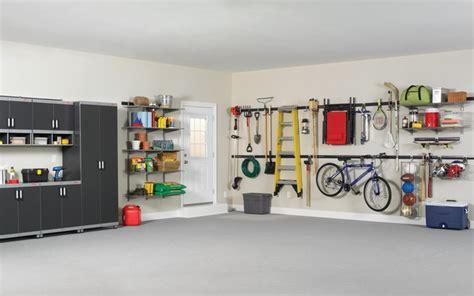 rubbermaid fasttrack garage organization system garage