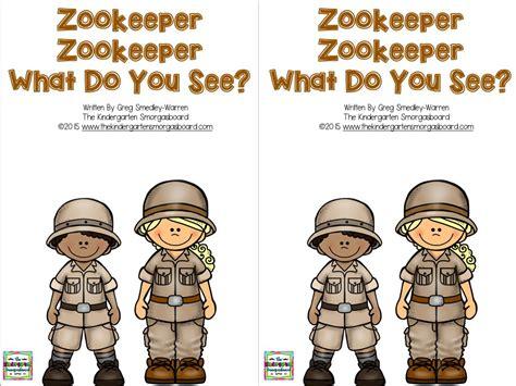 Zookeeper Education by The Kindergarten Smorgasboard Freebies