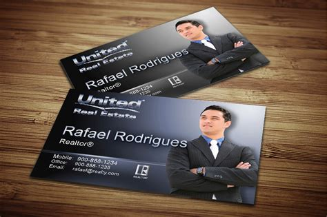 United Gift Card - real estate agent business card anuvrat info