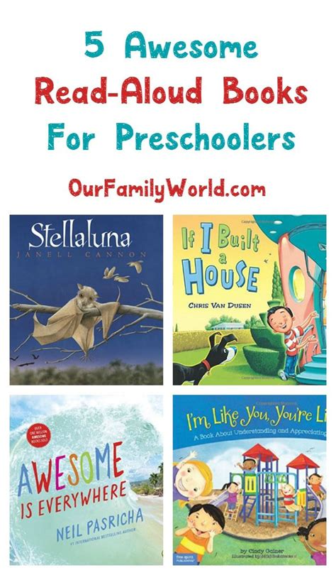 best picture books to read aloud 5 awesome read aloud books for preschoolers see more