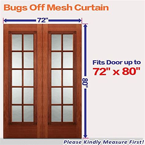 Magnetic Patio Door Screen Save 27 72 Quot W X 80 Quot H Free Magnetic Screen