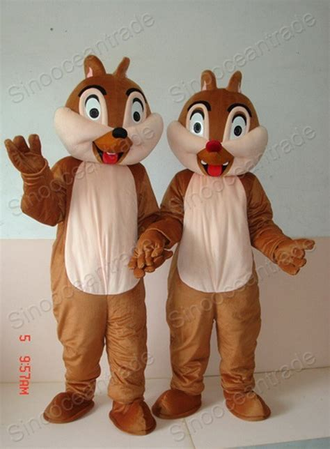 chip n dale costume china chip and dale chipmuk squirrel mascot costumes