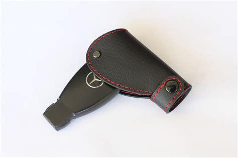 mercedes key holder genuine leather smart remote start key fob holder mercedes