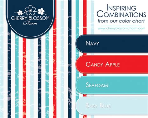 blue and red color combination inspiring color combinations navy candy apple seafoam