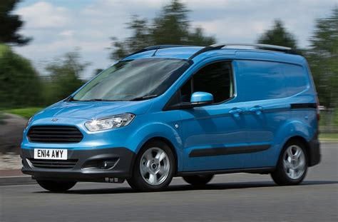 ford transit small transit courier best small delivery business vans