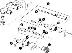 kohler shower valves parts