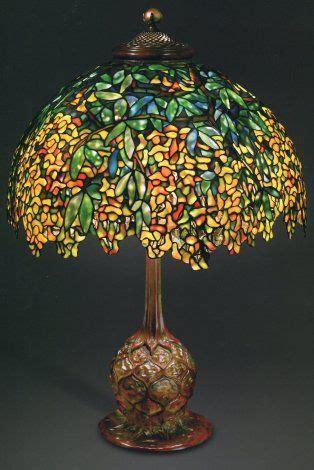 candelabros tiffany lara de mesa de flores de laburno laburnum louis