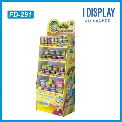 Rak Kosmetik Karton display kardus minyak matahari tray karton rak display
