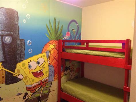 Spongebob Bunk Bed 4 D Spongebob And Bottom Breakfast Make Nick Hotel The Place To Be Zannaland