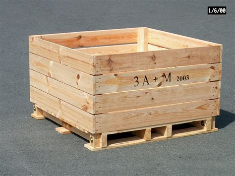 barbarie apple storage box type f 2 way entry pallet