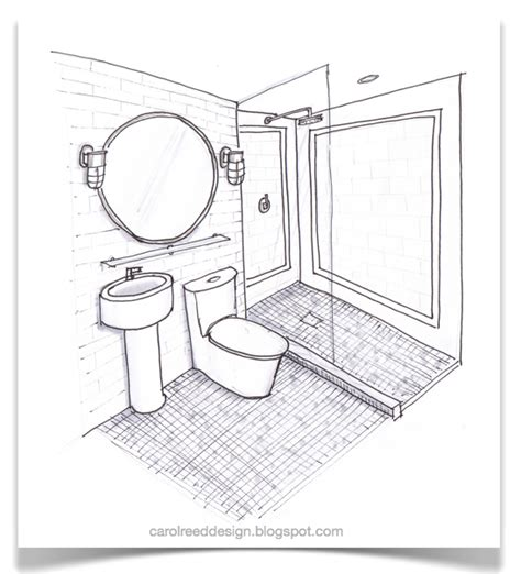 sketch of bathroom creed nyc reno progress boy s bath