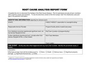 root cause report template free editable root cause analysis report template helloalive