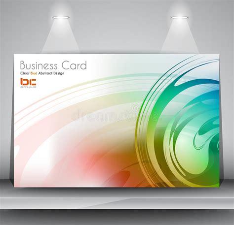 card design template jpg business card design template stock illustration