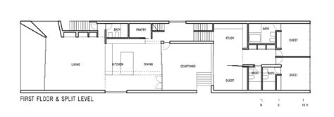 home design for rectangular plot gallery vault house johnston marklee 16