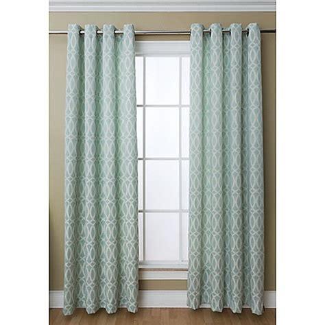grommet top curtains 84 caitlin 84 inch grommet top window curtain panel bed