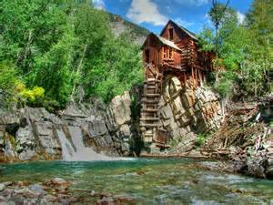 The Curtain Mill The Crystal Mill 1 Photograph By Ken Smith