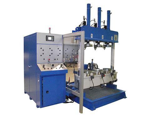 banchi prova valvole high pressure multi coupling system banchi prova valvole