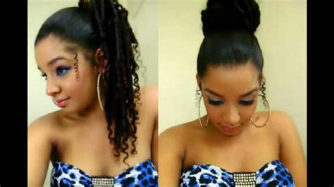 easy quick hairstyles how to updo ponytail cute top high bun tutorial medium long hair style