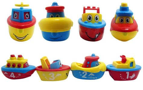 toy boat for 2 year old fun bath toys for boys and girls magnet boat set for