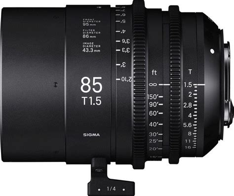 Sigma 24mm T1 5 Ff High Speed Prime Ef Mount sigma cine ff high speed prime 85mm t1 5 do pl czarny por 243 wnanie cen cenowarka pl polska